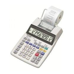 Cheap Stationery Supply of Sharp Desktop Printing Calculator 12 Digit Display 2 Colour Printing 150x52x230mm Grey SH-EL1750V Office Statationery