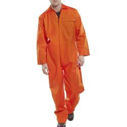 Cheap Stationery Supply of Click Fire Retardant Boilersuit Cotton Size 40 Orange CFRBSOR40 *Up to 3 Day Leadtime* Office Statationery