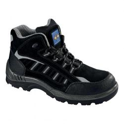 Cheap Stationery Supply of Rockfall ProMan Boot Suede Fibreglass Toecap Black Size 4 PM4020 4 Office Statationery