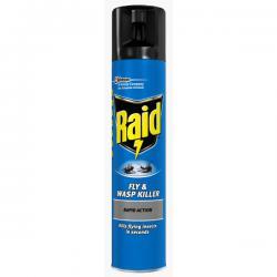 Cheap Stationery Supply of Raid Fly & Wasp Killer Aerosol 300ml 77065 Office Statationery