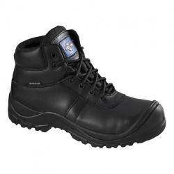 Cheap Stationery Supply of Rockfall Proman Boot Leather Waterproof 100% Non-Metallic Size 12 Black PM4008-12 *5-7 Day Leadtime* Office Statationery