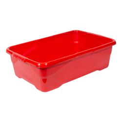 Cheap Stationery Supply of Strata Curve Box 30 Litre Red XW201B-RED Office Statationery