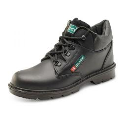 Cheap Stationery Supply of Click Footwear Leather Mid Cut Midsole Boot PU/Leather Size 7 Black CF4BL07 *Up to 3 Day Leadtime* Office Statationery
