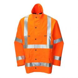 Cheap Stationery Supply of B-Seen Gore-Tex Jacket for Foul Weather Polyester Medium Orange GTHV152ORM *Up to 3 Day Leadtime* Office Statationery