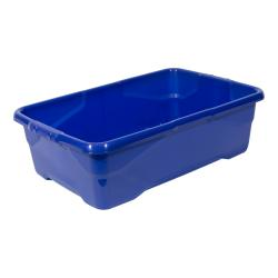 Cheap Stationery Supply of Strata Curve Box 30 Litre Blue XW201B-LBL Office Statationery