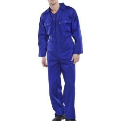 Cheap Stationery Supply of Click Workwear Regular Boilersuit Royal Blue Size 38 RPCBSR38 *Up to 3 Day Leadtime* Office Statationery