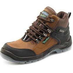 Cheap Stationery Supply of Click Traders S3 Hiker Boot PU/Leather TPU Size 8 Brown CTF31BR08 *Up to 3 Day Leadtime* Office Statationery