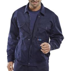 Cheap Stationery Supply of Super Click Workwear Drivers Jacket 50in Navy Blue PCJHWN50 *Up to 3 Day Leadtime* Office Statationery