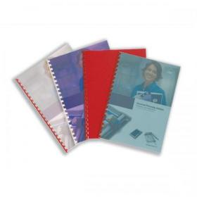 GBC PolyCovers Techno Binding Covers Polypropylene 700 micron A4 Ice White Ref IB387210 Pack of 50