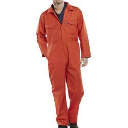 Cheap Stationery Supply of Click Workwear Boilersuit Size 34 Orange PCBSOR34 *Up to 3 Day Leadtime* Office Statationery