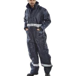 Cheap Stationery Supply of Click Freezerwear Coldstar Freezer Coveralls Navy Blue XL CCFCNXL *Up to 3 Day Leadtime* Office Statationery