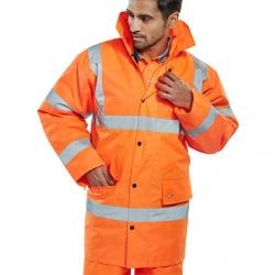 Cheap Stationery Supply of B-Seen High Visibility Constructor Jacket Small Orange CTJENGORS *Up to 3 Day Leadtime* Office Statationery