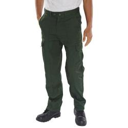 Cheap Stationery Supply of Super Click Workwear Drivers Trousers Bottle Green 44 PCTHWBG44 *Up to 3 Day Leadtime* Office Statationery