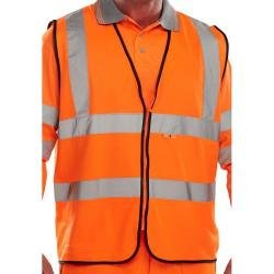 Cheap Stationery Supply of Click Fire Retardant Hi-Vis Waistcoat Polyester XL Orange CFRWCORXL *Up to 3 Day Leadtime* Office Statationery
