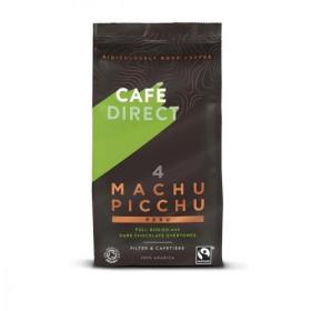 Cafe Direct Machu Picchu Peru Fairtrade Roast and Ground Coffee 227g Ref FCR1001