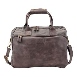 Cheap Stationery Supply of Pride and Soul Mystify 15inch Laptop Bag Grey/Brown 47302 Office Statationery