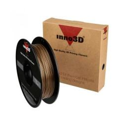 Cheap Stationery Supply of Inno3D PLA Filament for 3D Printer 1.75x200mm 0.5kg Gold 3DPFP175GD05 Office Statationery