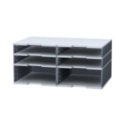 Cheap Stationery Supply of Exacompta Modulodoc Post Sorter Case Mixed for 6 Sections Mixed Duo 381740D Office Statationery