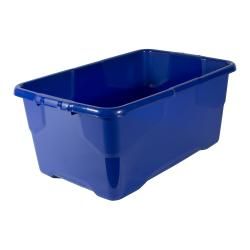 Cheap Stationery Supply of Strata Curve Box 42 Litre Blue XW202B-LBL Office Statationery