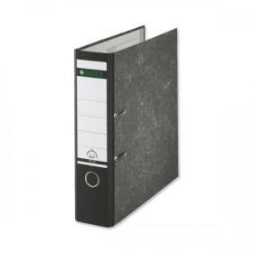Leitz Standard Lever Arch File 80mm Spine A4 Black Ref 1080-95 Pack of 10