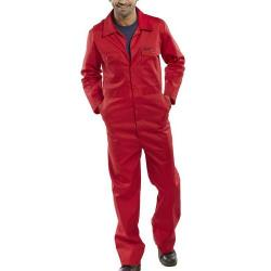 Cheap Stationery Supply of Click Workwear Boilersuit Size 38 Red PCBSRE38 *Up to 3 Day Leadtime* Office Statationery