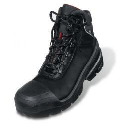 Cheap Stationery Supply of Uvex Quatro Boot Leather Upper PUR Sole Size 9 Wide Fit Black 09/02/8401 *Up to 3 Day Leadtime* Office Statationery