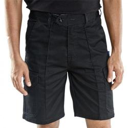 Cheap Stationery Supply of Super Click Workwear Shorts Cargo Pocket Size 50 Black CLCPSBL50 *Up to 3 Day Leadtime* Office Statationery