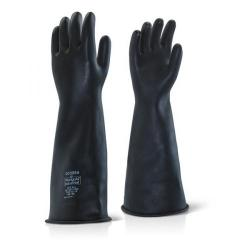 Cheap Stationery Supply of Ansell Industrial Latex Heavy Weight 17inch Gauntlet Size 10 Black ILHW1710 *Up to 3 Day Leadtime* Office Statationery