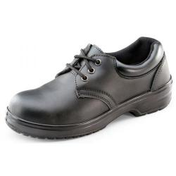 Cheap Stationery Supply of Click Footwear Ladies Tie Shoe PU/Leather STC Size 37/4 Black CF13BL04 *Up to 3 Day Leadtime* Office Statationery