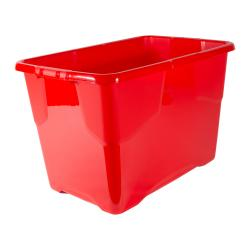Cheap Stationery Supply of Strata Curve Box 65 Litre Red XW203B-RED Office Statationery