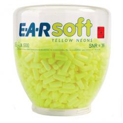 Cheap Stationery Supply of Earsoft Neons Ear Plugs EARSNRB Pack of 500 *Up to 3 Day Leadtime* Office Statationery