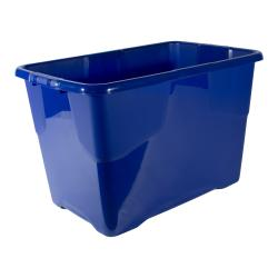 Cheap Stationery Supply of Strata Curve Box 65 Litre Blue ref XW203B-LBL Office Statationery