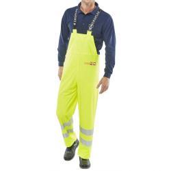 Cheap Stationery Supply of Click Fire Retardant Bib & Brace Hi-Vis 4XL Sat Yellow CFRLR59SYXXXXL *Up to 3 Day Leadtime* Office Statationery