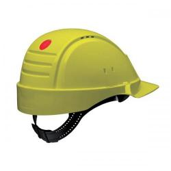 Cheap Stationery Supply of 3M PELTOR G2000C Solaris Safety Helmet Ventilation Uvicator Neck Protection (Yellow) G2000CUV-GU Office Statationery