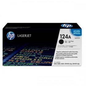 Hewlett Packard HP 124A Laser Toner Cartridge Page Life 2500pp Black Ref Q6000A