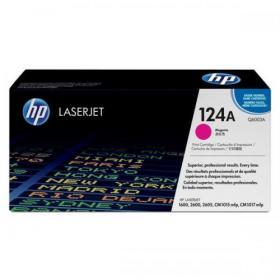 HP 124A Laser Toner Cartridge Page Life 2000pp Magenta Ref Q6003A