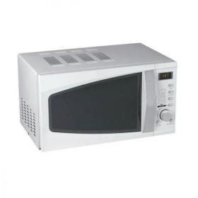 5 Star Facilities Microwave Oven 800W Digital 20 Litre Silver