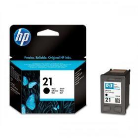 Hewlett Packard HP HPNo.21 Inkjet Cartridge Page Life 190pp 5ml Black Ref C9351AE
