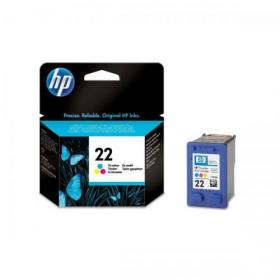 Hewlett Packard HP No.22 Inkjet Cartridge Page Life 165pp 5ml Colour Ref C9352AE