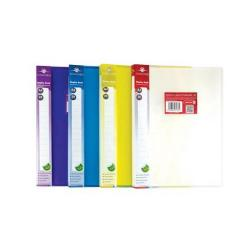 Cheap Stationery Supply of Concord Display Book Polypropylene 20 Pockets A4 (Assorted Colours) Pack of 12 7136-PFL Office Statationery