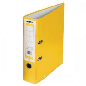Concord Classic Lever Arch File Capacity 70mm A4 Yellow Ref C214043 Pack of 10