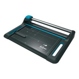 Avery Precision Trimmer A0 Rotary Cutting Length 1370mm Capacity 15 Sheets 110x1580x420mm Ref 1370