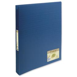Cheap Stationery Supply of Exacompta Forever Ring Binder Polypropylene 2-Ring 30mm A4 Blue 542572E Pack of 10 542572E Office Statationery