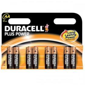Duracell Plus Power Battery Alkaline 1.5V AA Ref 81275377 Pack of 8