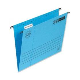Elba Verticflex Ultimate Suspension File Manilla 15mm V-base 240gsm Foolscap Blue Ref 100331168 Pack of 25
