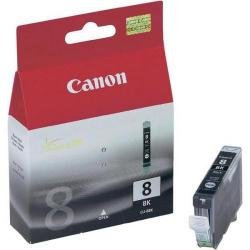 Cheap Stationery Supply of Canon CLI-8BK Inkjet Cartridge Page Life 1145pp 13ml Black 0620B001 Office Statationery