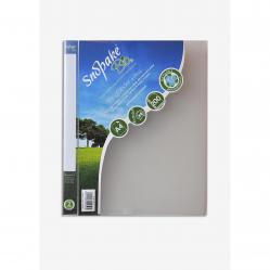 Cheap Stationery Supply of Snopake Bio2 Ring Binder Biodegradable Polypropylene 2 O-Ring Size 25mm A4 Clear 15431 Pack of 10 Office Statationery
