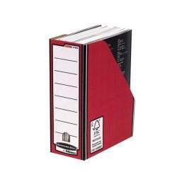 Cheap Stationery Supply of Bankers Box by Fellowes Premium Magazine File (Red) - 1 x Pack of 10 Magazine Files 0722604 Office Statationery
