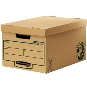 Bankers Box by Fellowes FSC Earth Series Storage Box Large Brown Ref 4470701 Pack of 10