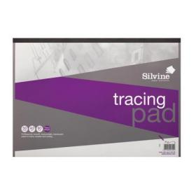 Silvine Professional Tracing Pad Acid Free Paper 90gsm 50 Sheets A3